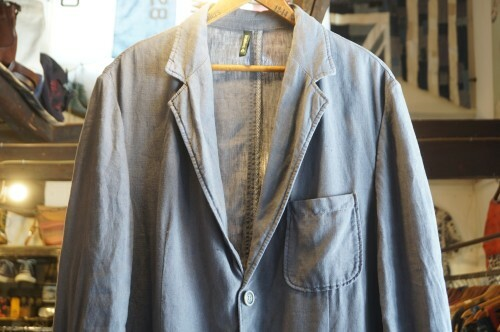 "Braddock piece-dyed linen Jacket ""Made in ITALY"""