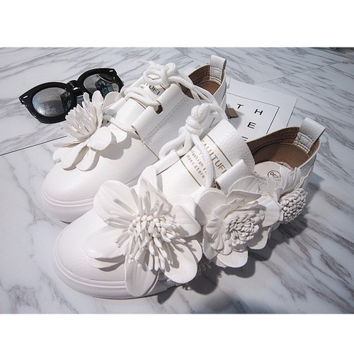girly flower shoes 2298
