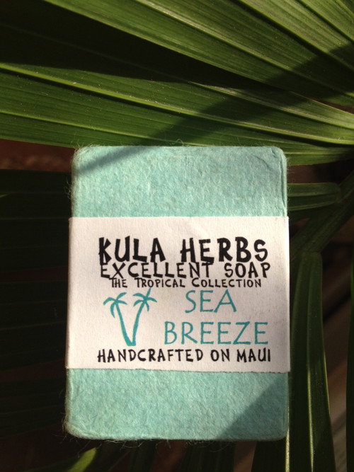 KULA HERBS    EXCELLENT SOAP    sea breese oz(120g)