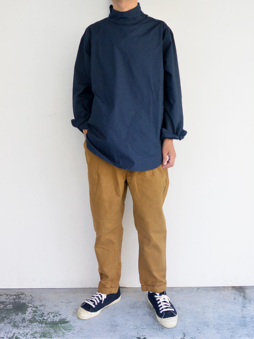 have a good day(ハブアグッドデイ) PULLOVER STAND SHIRTS UNISEX