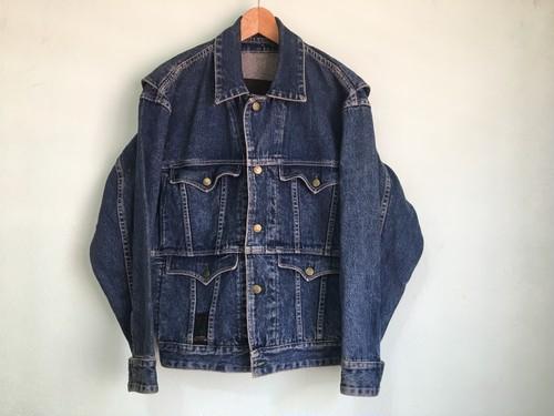 80年代~90年代 ビンテージ ニコル nicole デニムジャケット ジージャン 女性にも 80s 90s OLD