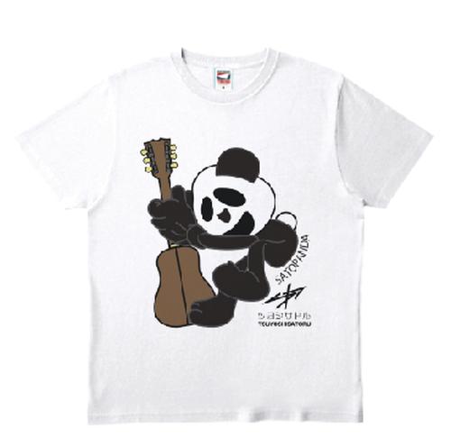 さとパンダホワイトTシャツ