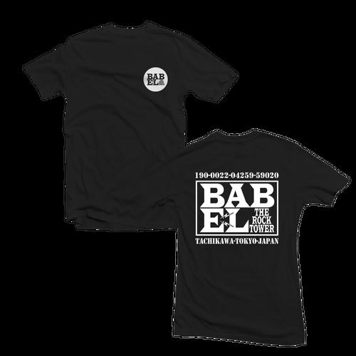 BABELロゴTシャツ 黒