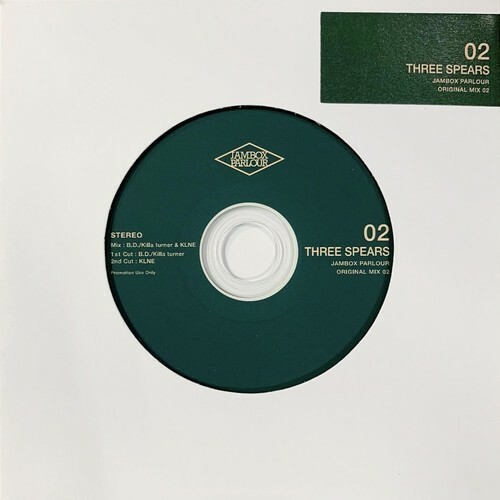"JBP ORIGINAL MIX CD ""THREE SPEARS"" mixed by KLNE, KILLA TURNER"