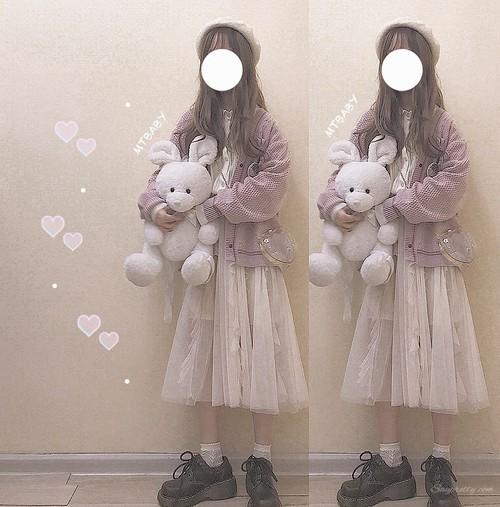 【ボトムス】日系スウィート春夏レースAラインハイウエストスカート