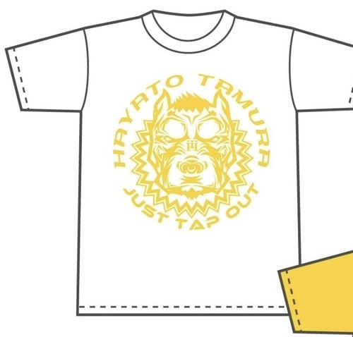 田村ハヤト オリジナルTシャツ(白)