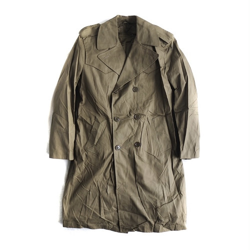 70~80s Dead Stock【Italian Army】TRENCH COAT