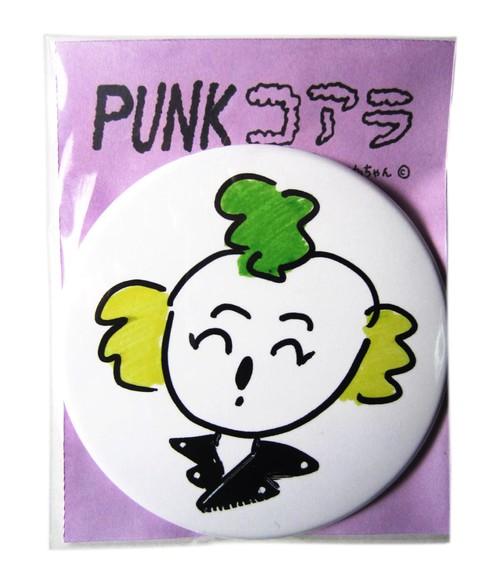 PUNKコアラ缶バッチ(76mm)