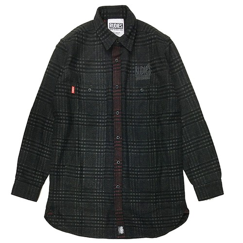 "RUDIE'S / ルーディーズ  | 【特価 SALE!!!】 "" DRAWING LONG CHECK SHIRTS """