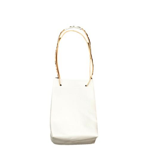 21099  ホワイトレザー・ショルダーバッグ