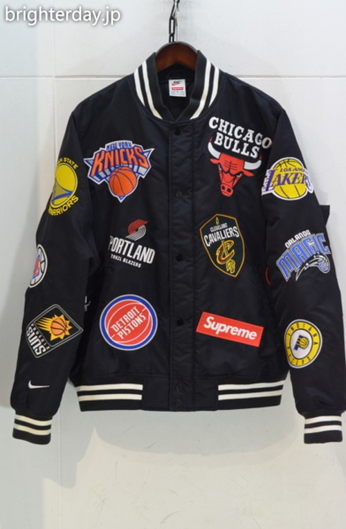 Supreme × Nike NBA Teams Warm-Up Jacket
