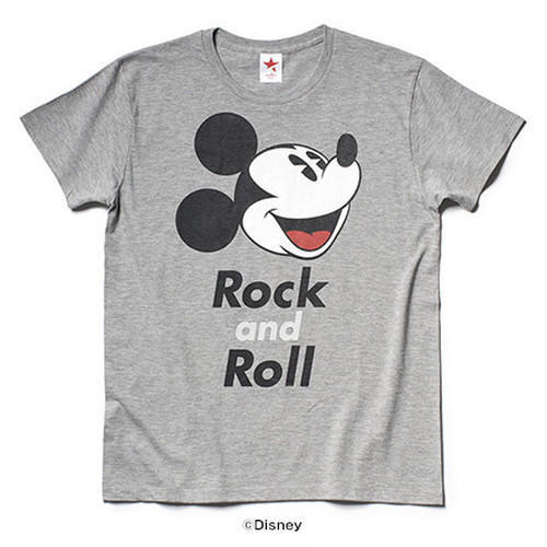 FACE MICKEY (GREY)/ rockin' star