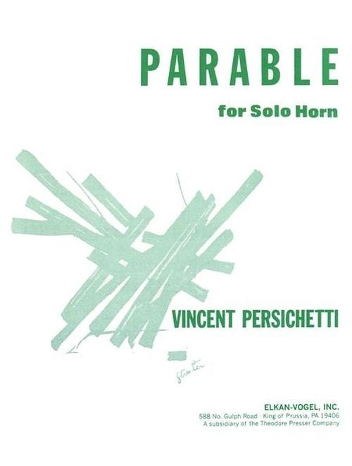 パーシケッティ:独奏ホルンのための寓話 第8番 作品120 / ホルン