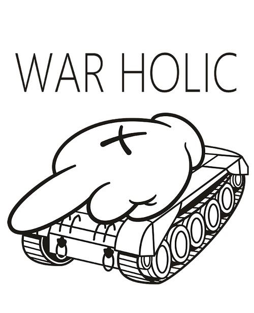 WAR HOLIC タイプM フォントB ( Tシャツ )