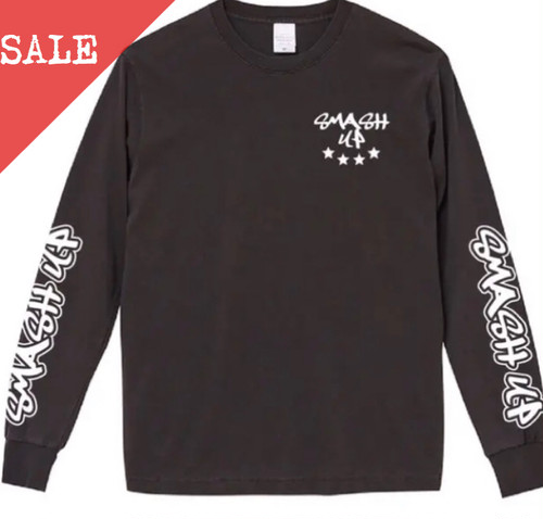 【SALE】LONG SLEEVE TEE (BLACK)