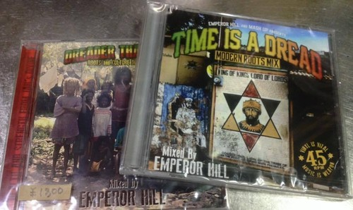 TIME IS A DREAD EMPEROR HILL MIX CD