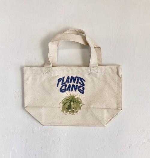 Plants Gang  mini tote bag (tillandsia xerographica)