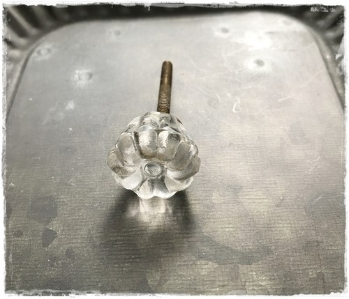 ガラスノブB*直径2cm  ♥ 現品限りセール中!
