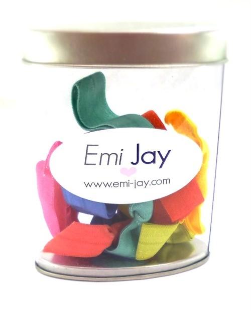 EmiJay HairTies Oval Tins エミージェイ ヘアータイズ オーヴァルティンズ