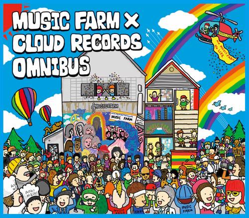 MUSIC FARM×CLOUD RECORDS OMNIBUS(ラババン、缶バッジ、2021年の公演チケット付き)