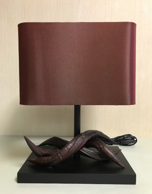 Kudu hone table stand lamp