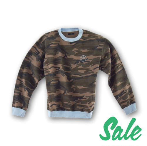 Ari Camo Ring Sweater