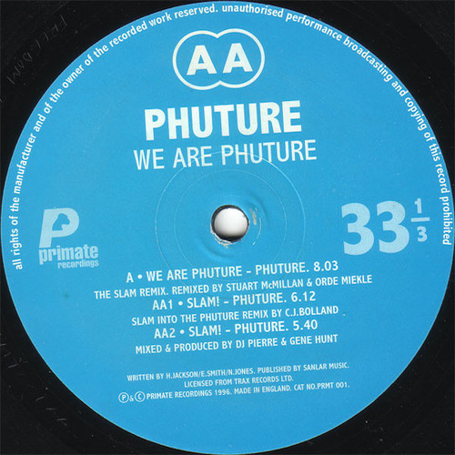 PHUTURE / We Are Phuture Remix E.P (12 inch)