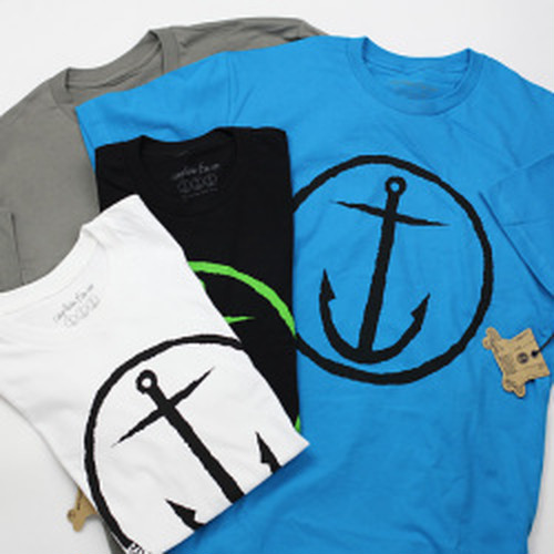 SALE!30%OFF! [CAPTAIN FIN Co.] ORIGINAL ANCHOR Premium  Tee