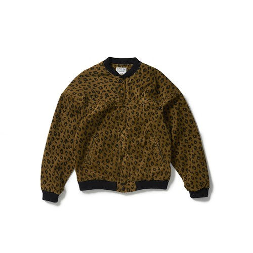 CAPTAINS HELM #Leopard Corduroy Jacket