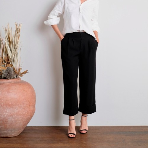 Occ Gaucho Pants / BLACK