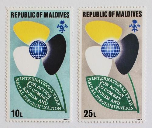 人種の花 / モルディブ 1971