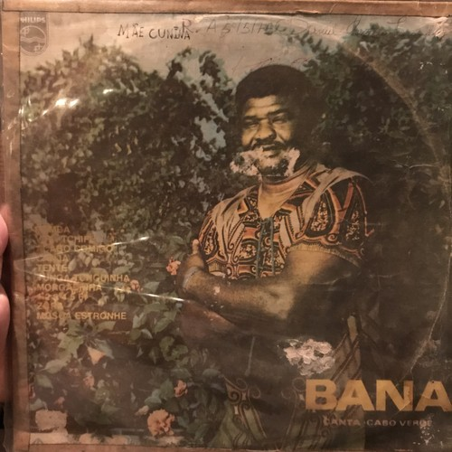 BANA canta CABO VERDE LP