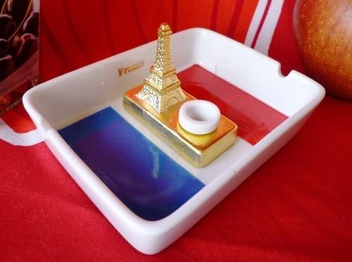 パリ タワーエッフェル灰皿 昭和レトロ ポップ雑貨
