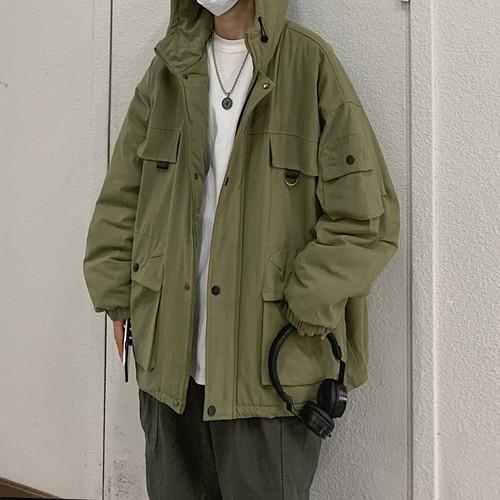 フードミリタリージャケット BL6945