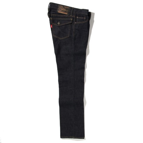 RIGID TYPE-1 DENIM PANTS<TIGHT STRAIGHT> (INDIGO) / RUDE GALLERY