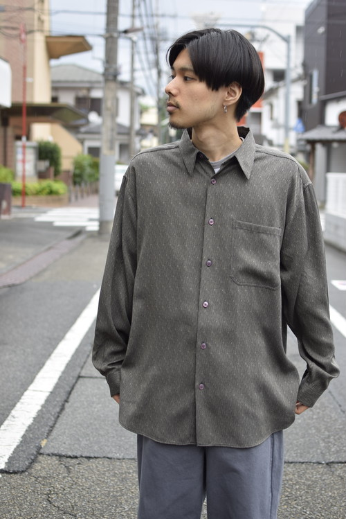 Mix Fabric L/S Shirt