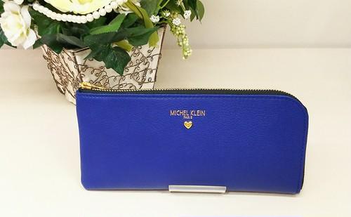 「MICHEL KLEIN」Envelopeシリーズ L字型長財布