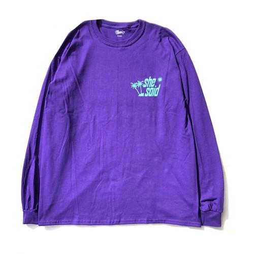 Chancegf Sea Said L/S - Purple - Black - Indigo Blue