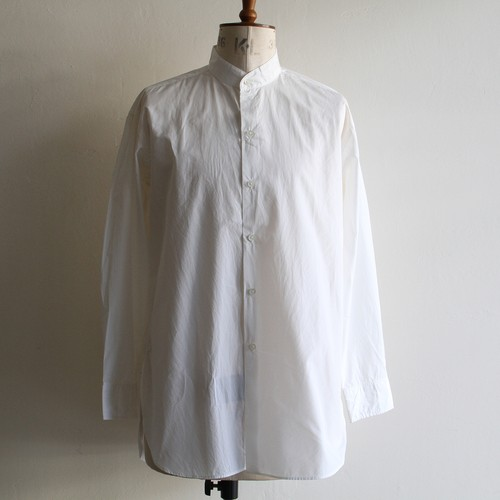 KAPTAIN SUNSHINE【 mens 】finx weather stand collar shirts