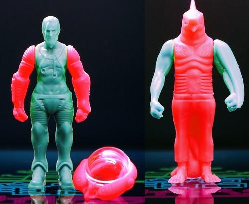 ②竜宮WARS / シリーズ1 /KESHI2体(復刻限定カラー)+キラシール2枚セット