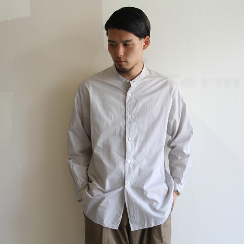 STILL BY HAND  【 mens 】stripe shirts