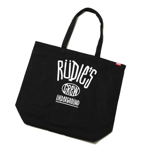 RUDIE'S / ルーディーズ | DRAWING TOTE BAG - Black