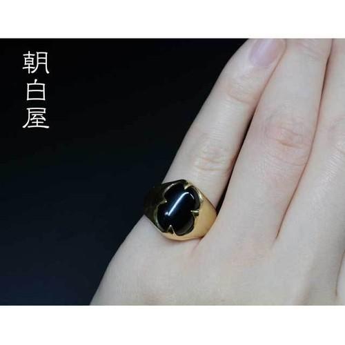 オニキスのリング