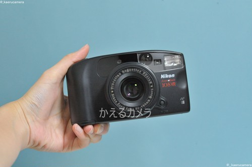Nikon Zoom・touch 105 VR フィルムカメラ
