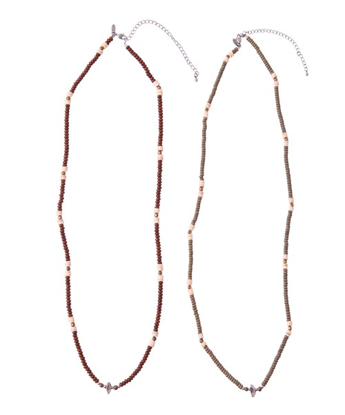 LONG BEADS NECKLACE[REA040]