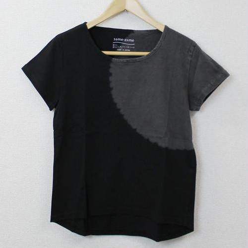 肩絞り(ブラックxグレー) [17L-A02-BG]/レディース