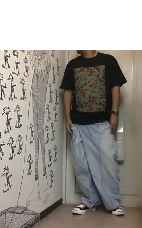 tomoki yuritaのリメイク・ワイドデニム Lサイズ