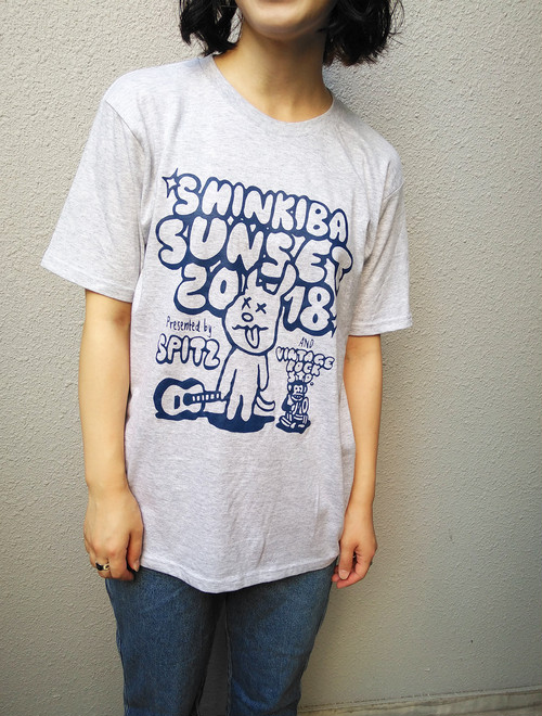 きばちゃんTシャツ19 [アッシュ]