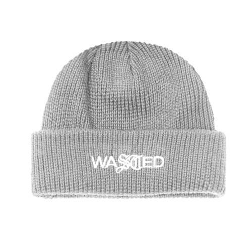 WASTED PARIS Essential Beanie GRAY