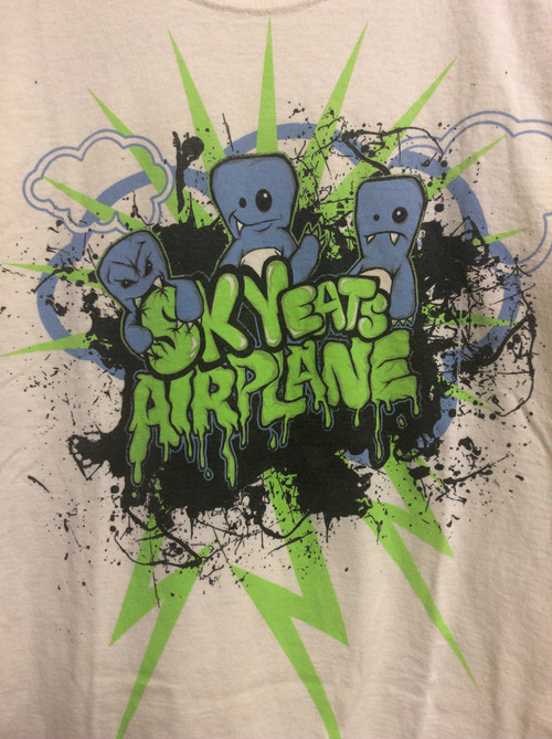 late2000's Sky Eats Airplane hardcore-electronica T's